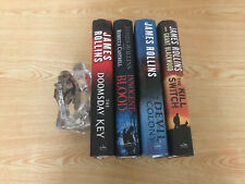 Lot of 4 James Rollins - The Doomsday Key , Innocent Blood