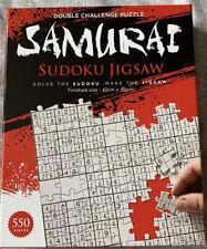 Samurai Sudoku Double Challenge Jigsaw 61cm x 46cm 550 Pieces New