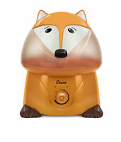 Crane Filter Free Humidifier 1 Gallon Ultrasonic Cool Mist Humidifiers Fox