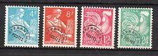 France : 1954 Préoblitére ( Coq Galois )