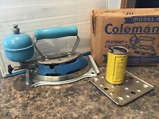 Antique Coleman Gas Iron Model 4A With Original Box Look