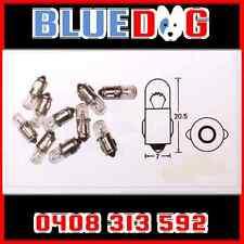 12v Motorbike Instrument Globe Bulb 2w BA75 Base x5 (You Are Buying 5) HL026