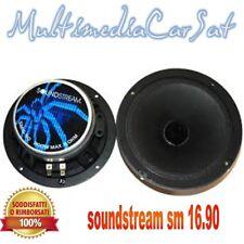 """Coppia di Soundstream SM16.90 6-1/2"""" Pro Component Series Midbass Driver sm 16.9"""