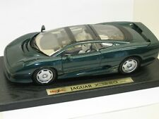 MAISTO 1/18 SPECIAL EDITION - JAGUAR XJ220  GREEN - EXCELLENT BOXED CONDITION