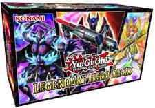 Yugioh Yu-Gi-Oh! YGO Legendary Hero Decks Set SEALED & IN HAND!^