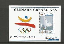 Grenada Grenadines 1992 Olympic Games Mini Sheet (Dingy) SG MS 1484 (1 Sheet)