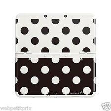 Coques interchangeables N°15 Pois Noir & Blanc Pour New Nintendo 3DS Neuf