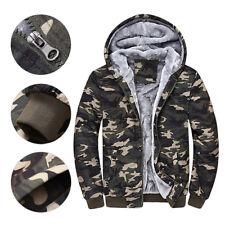 homme camouflage VESTE D'HIVER avec capuche manteau militaire armée parka