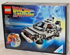 SEALED 21103 LEGO Cuusoo Back to the Future Delorian vehicle 401 pc set RETIRED