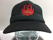 Vintage Hank Williams Jr. Black Mesh Snapback Hat