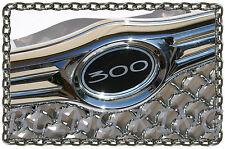 Chrysler 300 bentley mesh grille grill emblems badges #300 front/trunk/steering