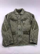 Polo Ralph Lauren Jacket XXL Quilted DENIM Full Zip