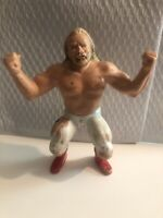 "WWF 1984 LJN Big John Stud WWE Titan Sports Wrestling Action Figure 8"" Vtg"
