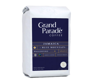 100% Jamaican Blue Mountain Wallenford, Unroasted Green Raw Coffee Beans, 10 Lbs