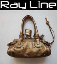 100% authentic Chloe Paddington shoulder bag  gold mint cond. gold [Used]