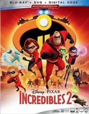 Incredibles 2 Blu-ray/DVD/Digital Copy NEW Disney