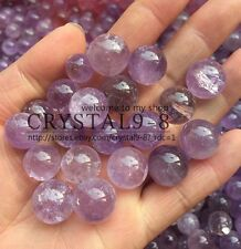 30g Amethyst Crystal Ball / Sphere HEALING, 12-18 mm 5-8pcs