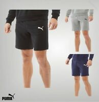 Mens Puma Printed Logo Regular Fit Loopback Shorts Sizes from S to XXL