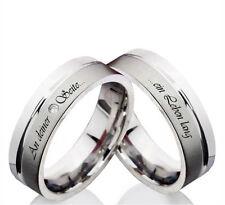 Modeschmuck-Ringe ohne Stein (15,9 mm Ø) Edelstahl - 50