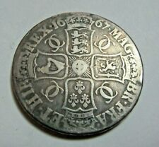 More details for 1667 king  charles ii sterling silver crown weight 29.11 grams *