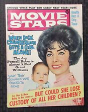 1962 June MOVIE STARS Magazine VG+ 4.5 Richard Chamberlin - Elizabeth Taylor