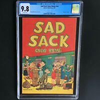 SAD SACK GOES HOME (Harvey 1951) 💥 CGC 9.8 💥 HIGHEST GRADED (1 of ONLY 2)!