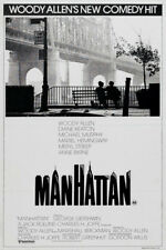 Manhattan Woody Allen 1979 movie poster print