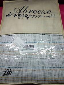 Duvet Cover Bedding Set 4 Piece 100% Cotton Multi Color Queen Abreeze