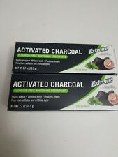 Natural White Extreme Activated Charcoal Fluoride-Free Whitening Toothpaste Mint