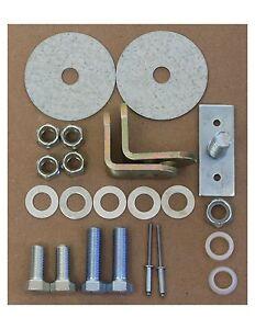 3 Point Retractable Shoulder seat belt hardware kit Great kit quaity parts