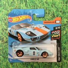 HOT WHEELS FORD GT - 40 HW RACE DAY - BRAND  NEW SEALED.