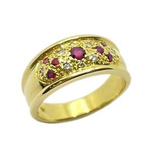 Ruby & Diamond 18ct Gold Ring (VAL $2600)