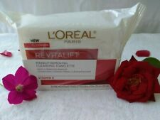 L'Oreal Paris RevitaLift Makeup Remover Cleansing Towelettes Wipes 30 ct Each.