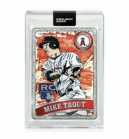 Topps PROJECT 2020 Card 100 2011 Mike Trout by Blake Jamieson Ben Baller Presale