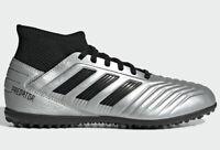 adidas JR Predator 19.3 TF - Silver-Black