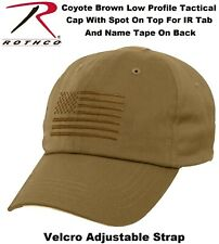 84469ff9d58df Tactical Operator Cap Military Contractor Hat With Embroidered US Flag  Rothco