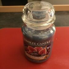 Yankee Candle Large Jar Scented Candle, Mulberry and Fig,NEW