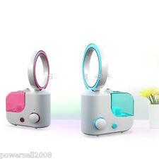 Ultrasonic Blue Air Humidifier Mist Maker Household Purifier Diffuser Mute Fan
