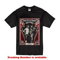THE STOOGES IGGY POP ROCK BAND RETRO Gildan T-Shirt Size S-2XL black color