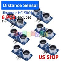 6X Ultrasonic Module HC-SR04 Distance Transducer Sensor For Arduino Robot