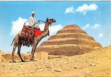 Egypt Sakkara - The Step Pyramid of King Zoser - 2780 B.C., camel