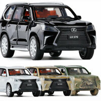 Lexus LX570 Off-road 1:32 Model Car Diecast Gift Toy Vehicle Kids Collection