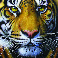 Golden Tiger Face 1000 Piece Jigsaw Puzzle by SunsOut