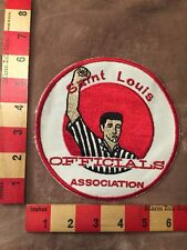 Vtg Large SAINT LOUIS OFFICIALS ASSOCIATION Jacket Patch - Referee Missouri 81L6