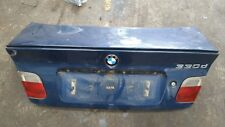 BMW 3 SERIES E46 SALOON M SPORT REAR BOOT TRUNK LID WITH SPOILER MYSTIC BLUE