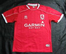 MIDDLESBROUGH FC home jersey shirt ERREA 2007-2008 BORO adult SIZE M