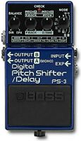 BOSS PS-3 DIGITAL PITCH SHIFT SHIFTER DELAY GUITAR EFFECTS PEDAL