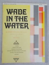 Fred Bock Wade in Water Other Spirituals Arr Organ Unmarked