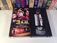3 A.M. Rare Thriller VHS 2001 OOP HTF Danny Glover Pam Grier Taxi Driver Action