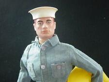 Early Gi Joe Vintage Sailor with Heat Stamp Calf, Eyeliner